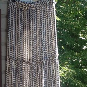 Fresh, new Boho patterned, lovely maxi skirt,